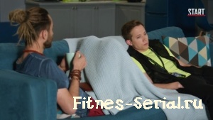 Володя и Раф из сериала Фитнес